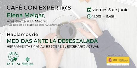 Café con expert@s entradas