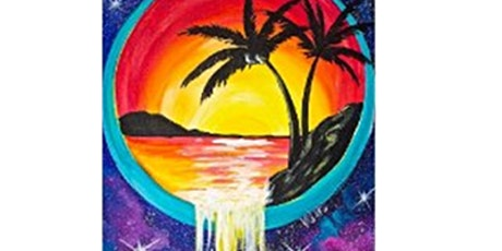 The Beach Waterfall Paint Night For all Ages, Only 15 Spots  $20 tickets