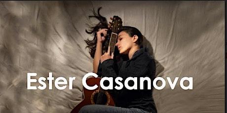 Concierto en DIRECTO de Ester CASANOVA en la RUTA de GONG, 20 de JUNIO entradas