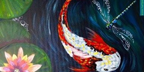 A Fish & a Dragonfly  Paint Night for All Ages, Only 15 Spots $16.50 tickets