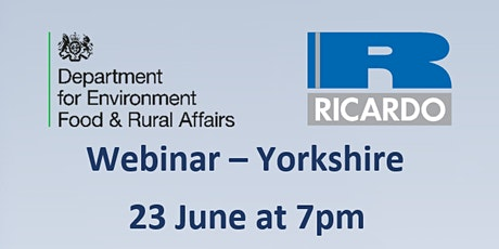 Future Farming Resilience Fund - webinar for participants in Yorkshire tickets