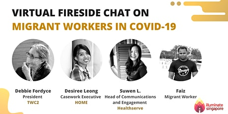 .Common Space: A Virtual Fireside Chat on SG Migrant Workers in COVID-19 tickets