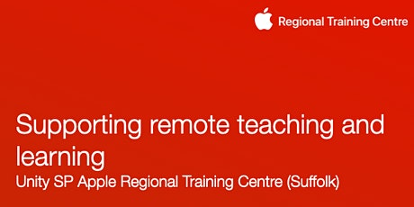 Supporting remote learning and teaching (Unity SP Apple RTC) tickets