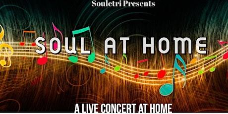 "Soul at Home ""Live Concert at Home"" biglietti"