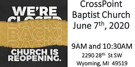 CrossPoint Baptist Morning Worship Service tickets