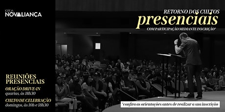 Culto Presencial INA Londrina - 10h ingressos