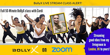 BollyX - The Bollywood Workout with Cordi tickets