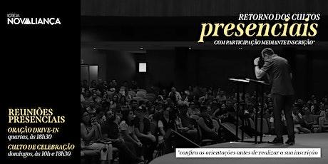 Culto Presencial INA Londrina - 18h30 ingressos