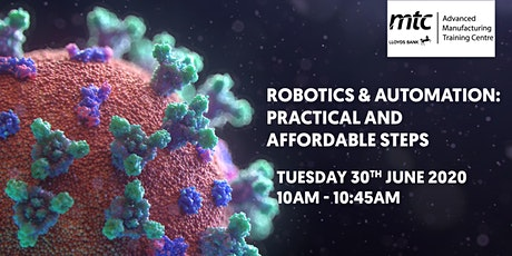 Robotics & Automation: Practical and affordable steps tickets