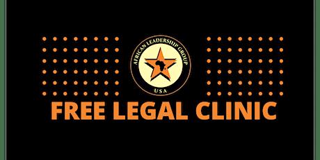 ALG Free Legal Clinic tickets
