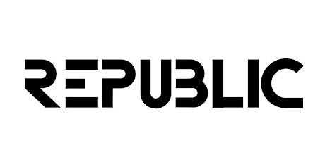 REPUBLIC SATURDAYS  - BOTTLE SERVICE ONLY tickets