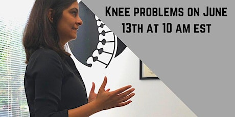 End Knee Problems & Get Back to Activity! tickets