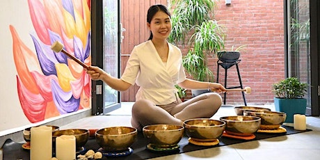 Singing bowls meditation tickets