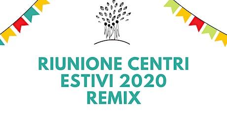 RIUNIONE CENTRI ESTIVI 2020 3-6 ANNI SEMIDISENAPE biglietti