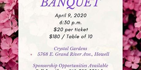 2020 Second Chance Spring Banquet - Postponed tickets