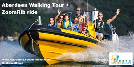Aberdeen Walking Tour + ZoomRib ride tickets