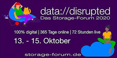 data://disrupted - Die Konferenz für Enterprise Storage Tickets
