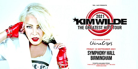 Kim Wilde - Greatest Hits Tour (Symphony Hall, Birmingham) tickets