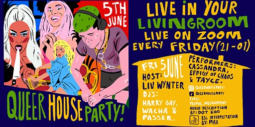 Queer House Party: Live in Your Living Room
