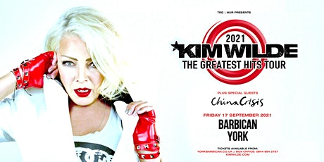 Kim Wilde - Greatest Hits Tour (Barbican, York) tickets