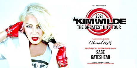 Kim Wilde - Greatest Hits Tour (The Sage, Gateshead) tickets