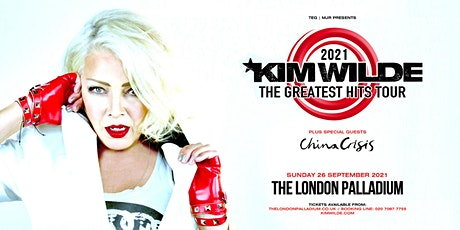 Kim Wilde - Greatest Hits Tour (Palladium, London) tickets