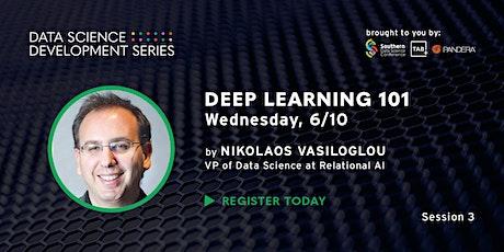 Data Science Development Series | Deep Learning 101 tickets
