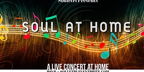 "Soul at Home ""A Concert in your Home"" bilhetes"
