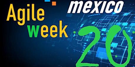 """Evento """"Agile Week México 2020"""". 6 días de conferencias """"on-line"""", gratuito boletos"""