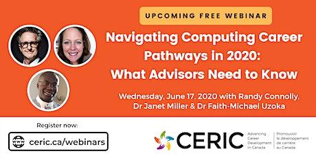 Free Webinar: Navigating Computing Career Pathways in 2020 tickets