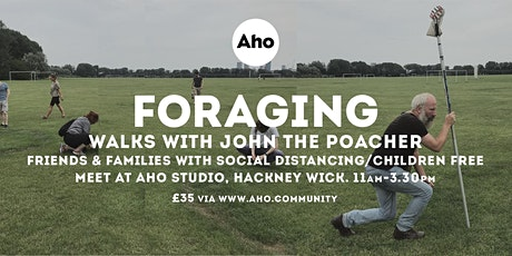 Foraging Walk with John the Poacher. Hackney Marshes tickets
