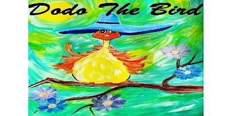 "Virtual Zoom Class ""Dodo The Bird"" (06-17-2020 starts at 5:00 PM) tickets"