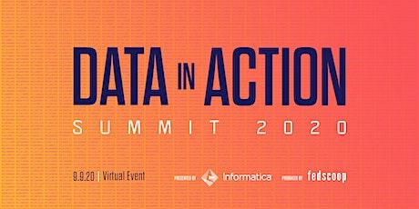 Data in Action Summit 2020 billets