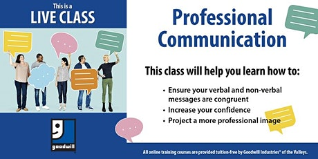 Professional Communication tickets