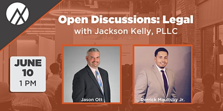 Open Discussions: Legal - June 10 tickets