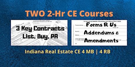 LIVE ~ 3Key Contracts & Forms R Us~Addendums & Amendments | June 23 tickets