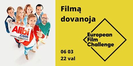 Kino Kiemas (filmo Alibi.com peržiūra) tickets