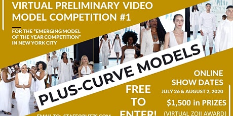 PLUS-CURVE FEMALE - LIVE VIRTUAL MODEL AUDITION CASTING CALL tickets