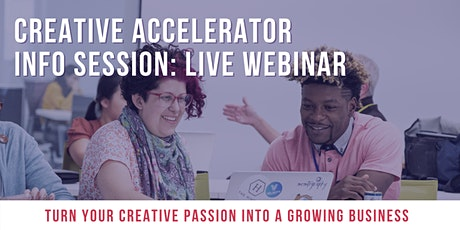 2020 Velocity Creative Accelerator Info Session: Charlotte Creatives tickets