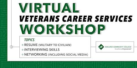 Virtual Veterans Career Services Workshop tickets