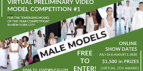 MALE - LIVE VIRTUAL MODEL AUDITION CASTING CALL tickets