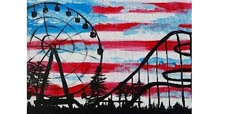 Independence Roller Coaster  Paint Night for all Ages, Only 15 Spots $20 tickets