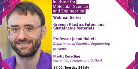 Plastic Recycling – Current Challenges and Future Outlook tickets