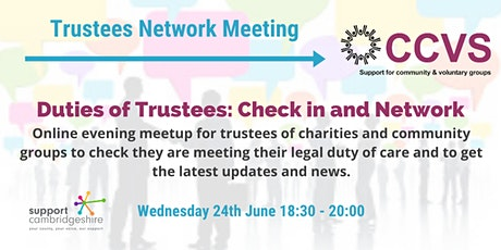Trustees Check in and Network tickets