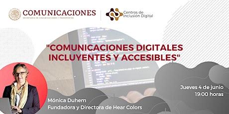 Comunicaciones digitales incluyentes y accesibles entradas