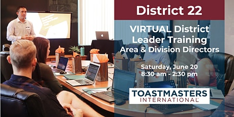 District 22 Leadership Training: Area and Division Directors tickets