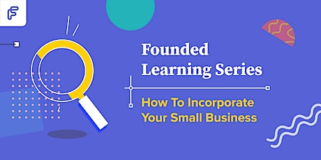 How to Incorporate Your Small Business tickets