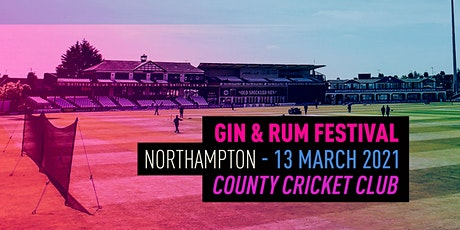 The Gin & Rum Festival - Northampton - 2021 tickets