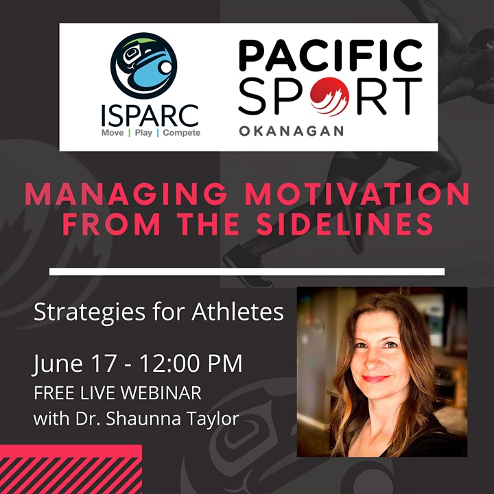 Athletes: Managing Motivation from the Sidelines image