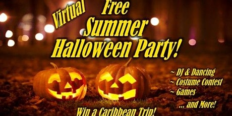 Free Virtual Summer Halloween Party tickets
